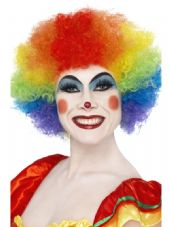Clown Wig In Multi-Colour